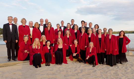 Universitetskoret Lille MUKO 2014 p� stranden i Hudiksvall, Sverige - Klassisk kor i K�benhavn