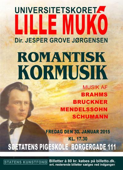 K�b billet til koncert i S�etatens Pigeskole fredag d. 30/1 kl. 17:30 med Universitetskoret Lille MUKO