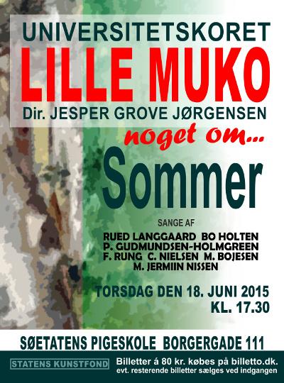 K�b billet til koncert i S�etatens Pigeskole torsdag d. 18/6 kl. 17:30 med Universitetskoret Lille MUKO