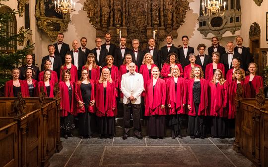 The University Choir Lille MUKO 2015 in Church of Holmen, Denmark - Classical choir in Copenhagen