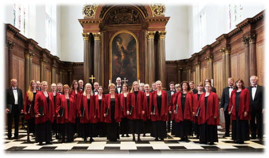 The University Choir Lille MUKO 2019 in Cambridge, England - Classical choir in Copenhagen