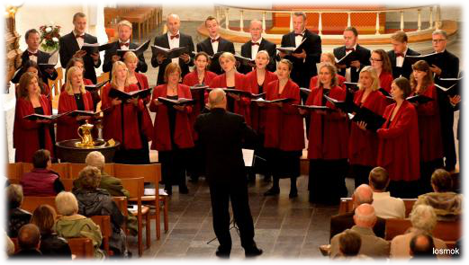The University Choir Lille MUKO in Schleswig