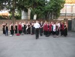 Picture from the choir's photo archive: Italien - Verona og Venedig (2012)